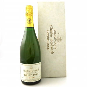 """Charles Heidsieck """"L'Oenotheque"""" 1981 Vintage Champagne"""