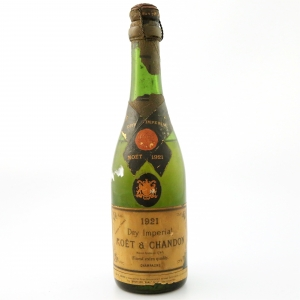 """Moet & Chandon """"Dry Imperial"""" 1921 Vintage Champagne"""