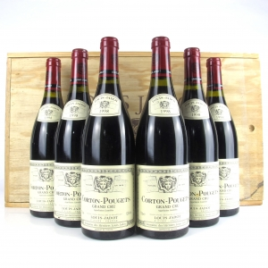Louis Jadot 1998 Corton-Pougets Grand-Cru 6x75cl / Original Wooden Case