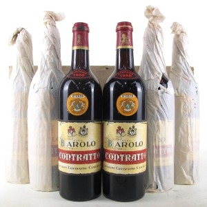 Contratto 1958 Barolo 6x70cl / Original Wooden Case