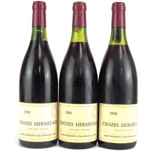 A. Graillot 1990 Crozes Hermitage 3x75cl