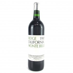 Ridge Monte Bello 1997 Sonoma