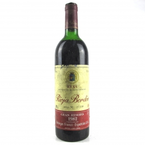 Bordon 1982 Rioja Gran Reserva