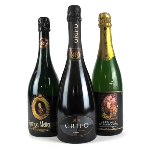Assorted Sparkling Wines 3x75cl