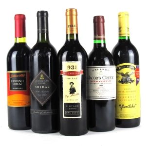 Assorted Australian Red Wines 5x75cl