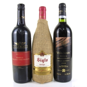Assorted Red Wines 3x75cl