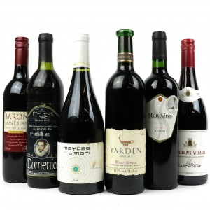 Assorted Red Wines 6x75cl