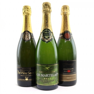 Assorted Brut NV Champagne 3x75cl