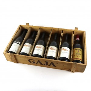 Assorted Piedmont Red Wines 6x75cl