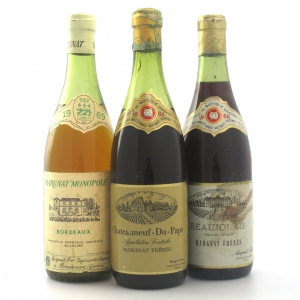 Margnat 1968 & 1969 Selection 3x75cl