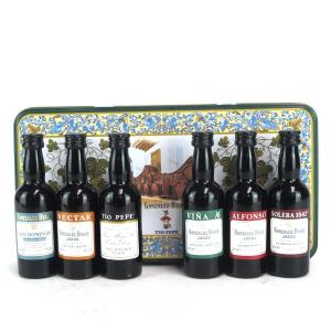 Gonzalez Byass Sherry Selection Pack 6x5cl