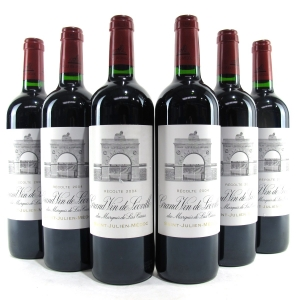 Ch. Leoville Las Cases 2004 Saint-Julien 2eme-Cru 6x75cl