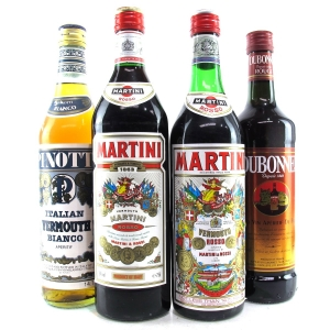 Assorted Bianco & Rosso Vermouth 4x75cl