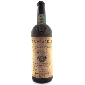 Taylor's 20 Year Old Tawny Port / Bottled 1975
