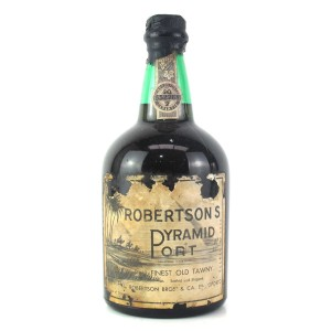 "Robertsons ""Pyramid"" Tawny Port"
