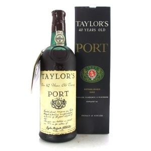 Taylor's 40 Year Old Tawny Port / Bottled 1979