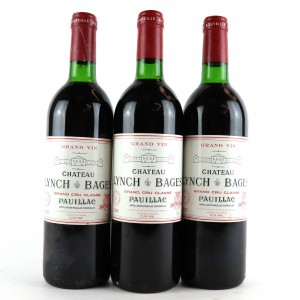 Ch. Lynch-Bages 1985 Pauillac 5eme-Cru 3x75cl