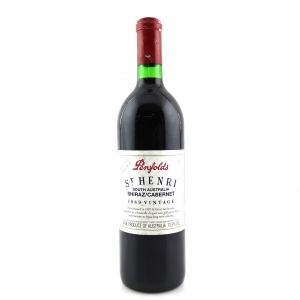 "Penfolds ""St Henri"" Shiraz 1989 South Australia"