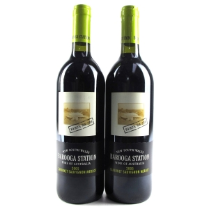 Barooga Station Cabernet Sauvignon-Merlot 2005 New South Wales 2x75cl
