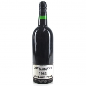 Cockburn's 1963 Vintage Port