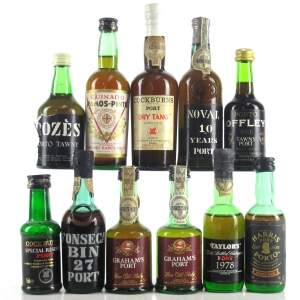 Assorted Port Miniatures 11x5cl