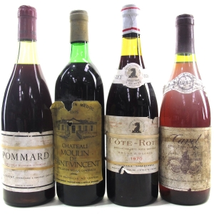 Assorted French Wines 4x75cl