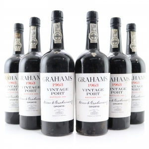 Graham's 1963 Vintage Port 6x75cl