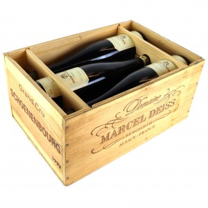 Deiss Schoenenbourg Vendanges Tardives Riesling 1997 Alsace Grand Cru 6x75cl / Original Wooden Case​​​​​​​