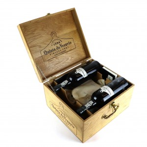 Quinta Do Vesuvio 1990 Vintage Port 5x75cl / Original Wooden Case