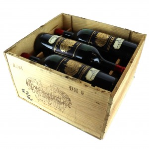 Ch. Palmer 1973 Margaux 3eme-Cru 6x148cl / Original Wooden Case