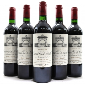 Ch. Leoville Las Cases 1989 Saint-Julien 2eme-Cru 5x75cl