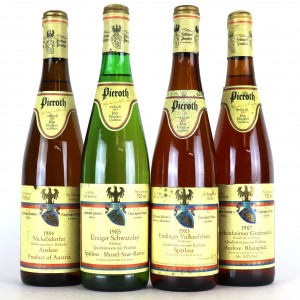 Assorted Pieroth 1980s White Wines 4x70cl