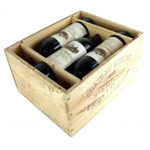 Ch. Ausone 1988 St-Emilion 1er Grand Cru 6x75cl / Original Wooden Case