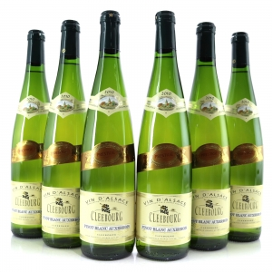 Cleebourg Pinot Blanc Auxerrois 2010 Alsace 6x75cl