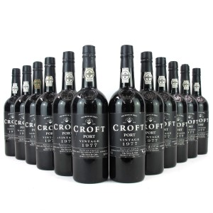 Croft 1977 Vintage Port 12x75cl