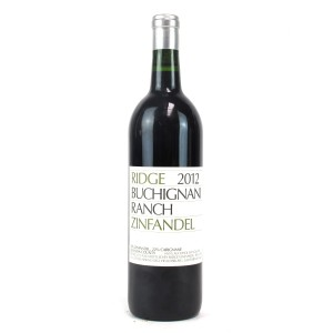 Ridge Buchignani Ranch Zinfandel 2012 Sonoma