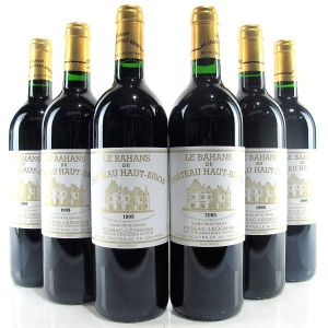 Le Bahans Du Ch. Haut-Brion 1995 Graves 6x75cl
