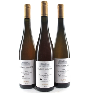 "M.Molitor ""Bernkasteler Graben"" Riesling Auslese 2000 Mosel 3x75cl"