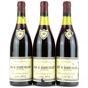 J.Belin 1983 Côte-de-Beaune-Villages 3x75cl