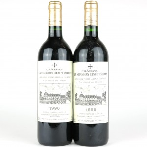 Ch. La Mission Haut Brion 1990 Graves Grand-Cru 2x75cl