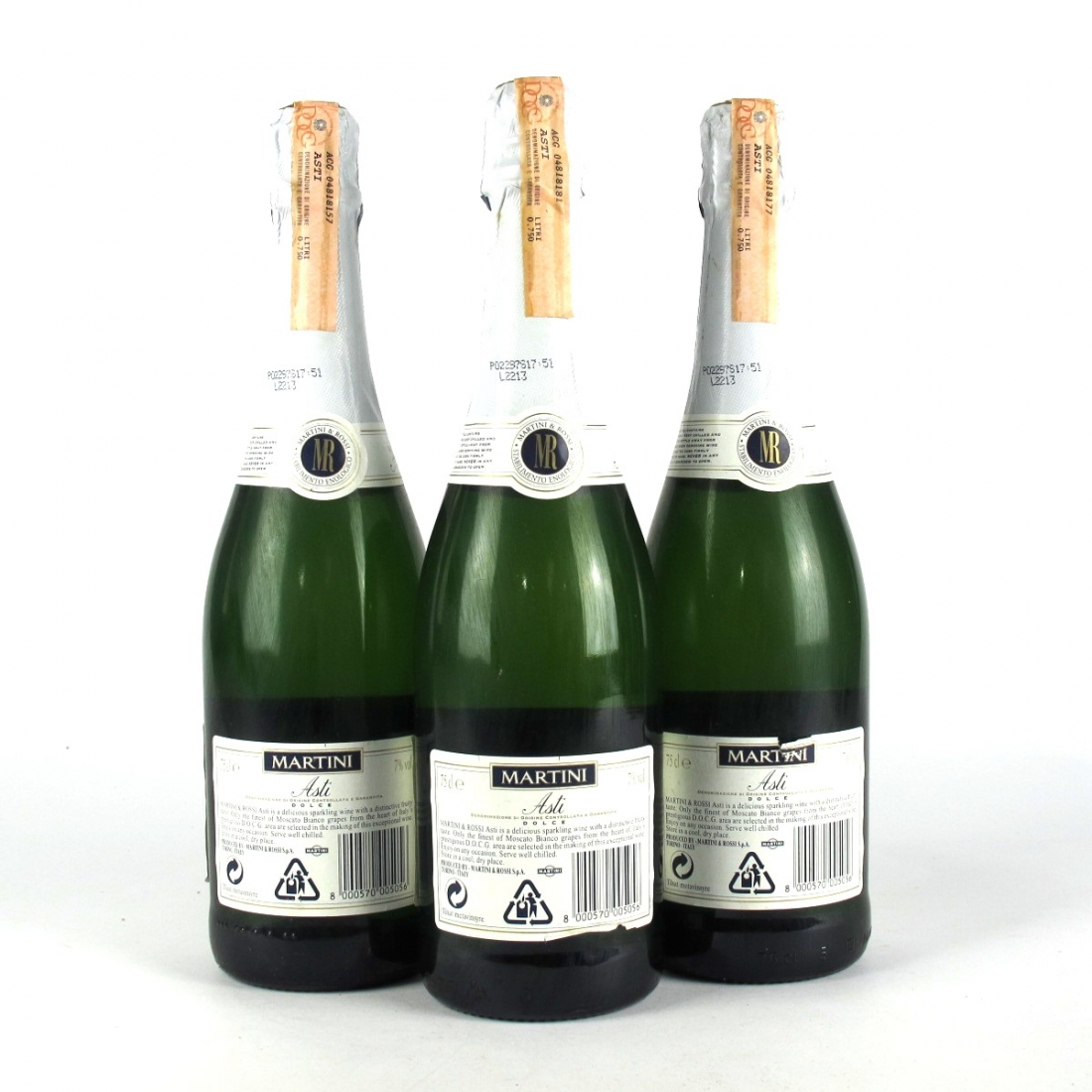 4a18b3f3 Martini Asti Dolce NV Spumante 3x75cl | Wine Auctioneer | Wine ...